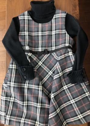 9e95ee4999043 子供服 100cm セット ジャンパースカート プティットフルール bebe