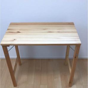 無印良品 折りたたみテーブル80×50×70