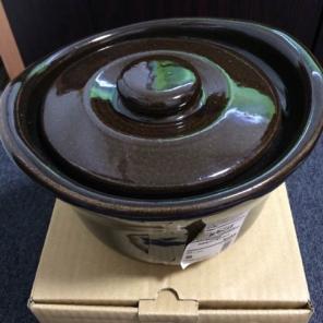 土釜おこげ 1.5合炊き 約直径18×高さ12cm