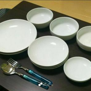 【無印良品】お得!白磁器の食器セット(10枚)