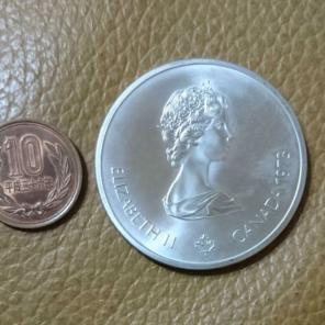 銀貨 カナダ オリンピック商品一...