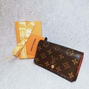 【美品/送料無料】ルイヴィトン 折り財布 L字 モノグラム