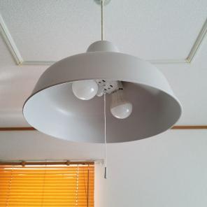 無印良品 LED ペンダントライト 2灯 照明