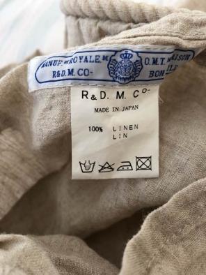 オールドマンズテーラー リネン 枕カバー ユナイテッドアローズ購入 ピローケース