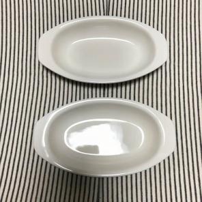 無印 グラタン皿2枚セット