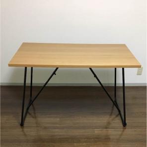 coco◇様専用*折りたたみテーブル*幅120cm*オーク材*無印良品