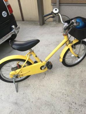 無印良品 自転車 16インチ 補助輪