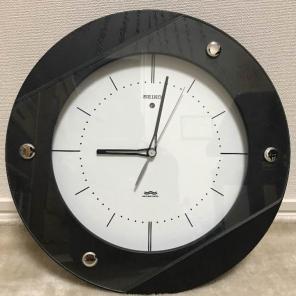 リコー丸型アンティーク時計☆縦5本ライングラデーション