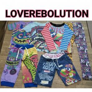 STOCKパンディTシャツ(子供80-140cm)【LOVEREVOLUTION ラブレボ 15SS 子供服