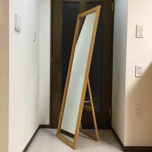 無印良品 MDF スタンドミラー 全身鏡