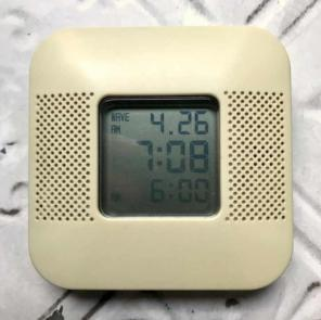 muji 無印良品 電波目覚まし時計