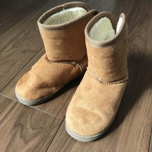 無印良品 ムートンブーツ 16-17cm