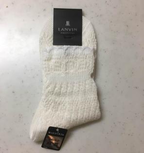 ゆうこりん様専用✴ 新品✴︎LANVAN ランバン ソックス 靴下 ホワイト
